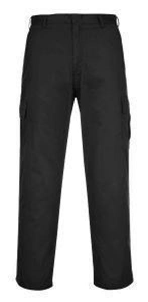 Picture of Combat Trousers Regular Leg - Black