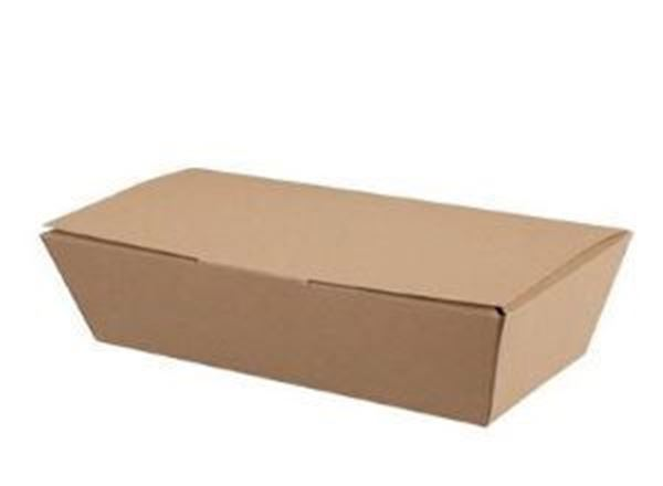 COLPAC COMPOSTABLE KRAFT FOOD BOXES