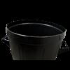Black Toby Plastic Dustbin