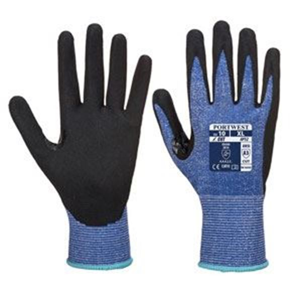 Dexi Cut Ultra Glove - Blue/Black