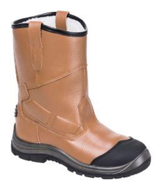 Steelite Rigger Boot Pro S3 Scuff Cap - Tan