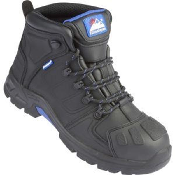Himalayan Storm Waterproof Leather Safety Boots S3 SRC - Black