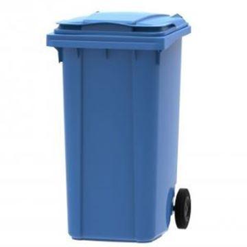 240lt WHEELED BIN PLASTIC - BLUE
