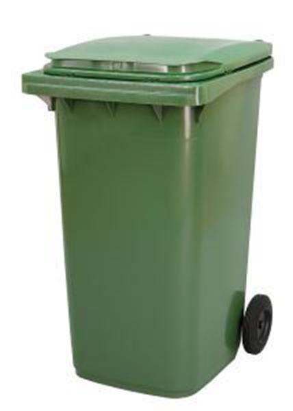 240lt WHEELED BIN PLASTIC - GREEN