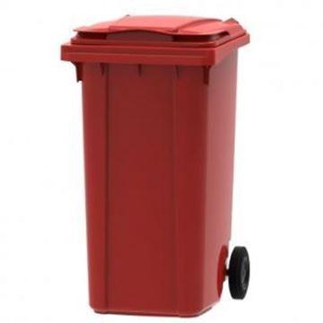 240lt WHEELED BIN PLASTIC - RED
