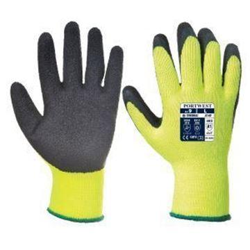 Thermal Grip Glove - Yellow/Black