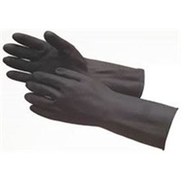 Household Heavy Weight Glove Black Large