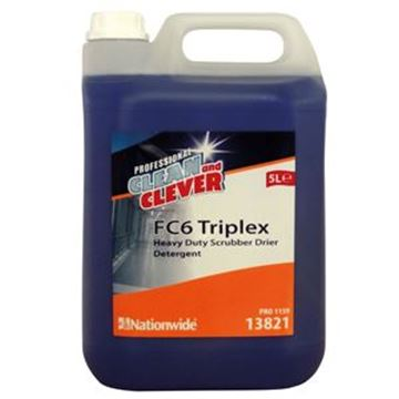 FC6 TRIPLEX SCRUBBER DRIER DETERGENT DEGREASER