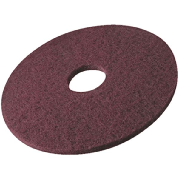 """Picture of 37.5cm/ 15"""" FLOOR PADS - MAROON BUFFING"""