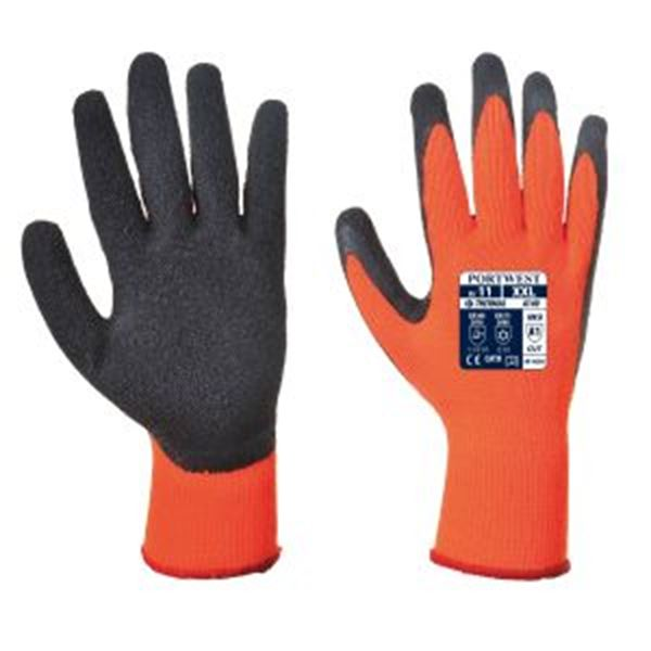 Picture of Thermal Grip Glove - Orange/Black
