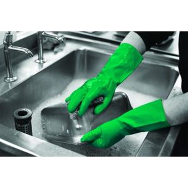 Picture of Latex Household Glove - Green