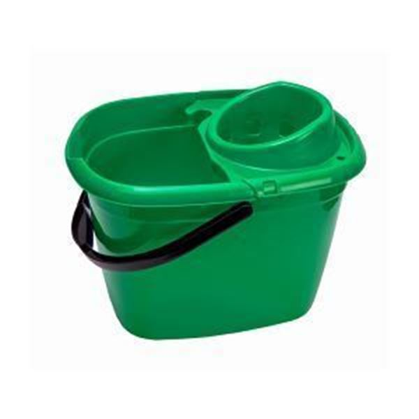 Picture of 14lt ECONOMY MOP BUCKET - GREEN