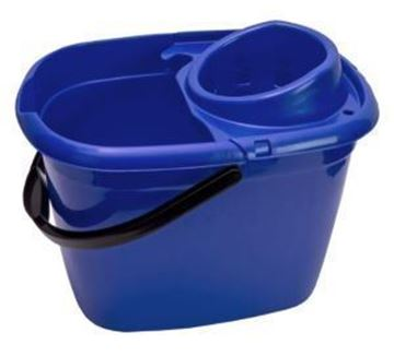 Picture of 14lt ECONOMY MOP BUCKET - BLUE