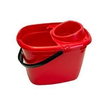 Picture of 14lt ECONOMY MOP BUCKET - RED