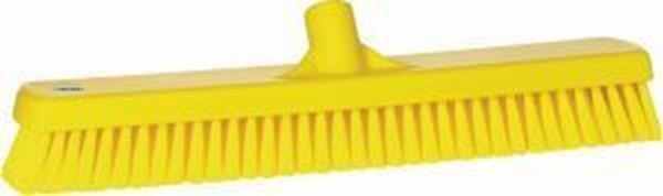 "Picture of 47cm/ 18.5"" STIFF WALL/ FLOOR BRUSH - YELLOW"