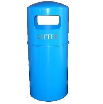 Duke Litter Bin Blue