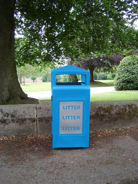 Galde Blue Litter Bin