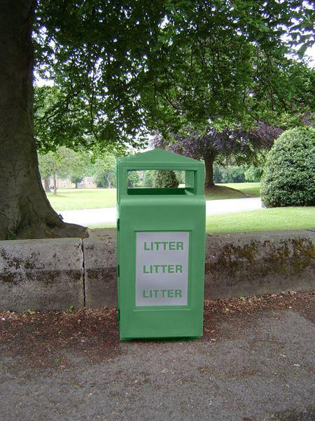 Glade Litter Bin Green