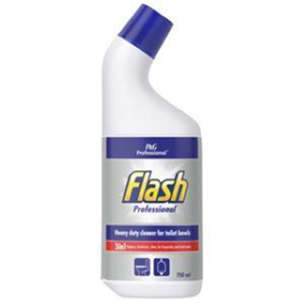 Picture of FLASH 9d TOILET CLEANER (750ml) P&G PROFESSIONAL RANGE