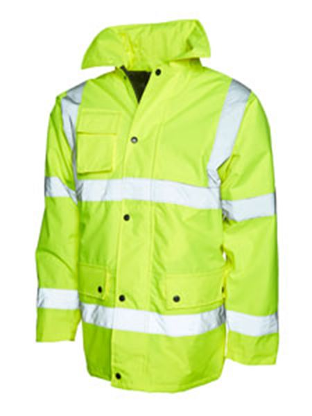 Picture of Hi Vis Road Safety Jacket - Yellow