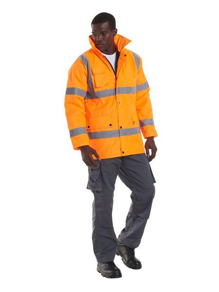 Picture of Hi Vis Traffic Jacket - Orange