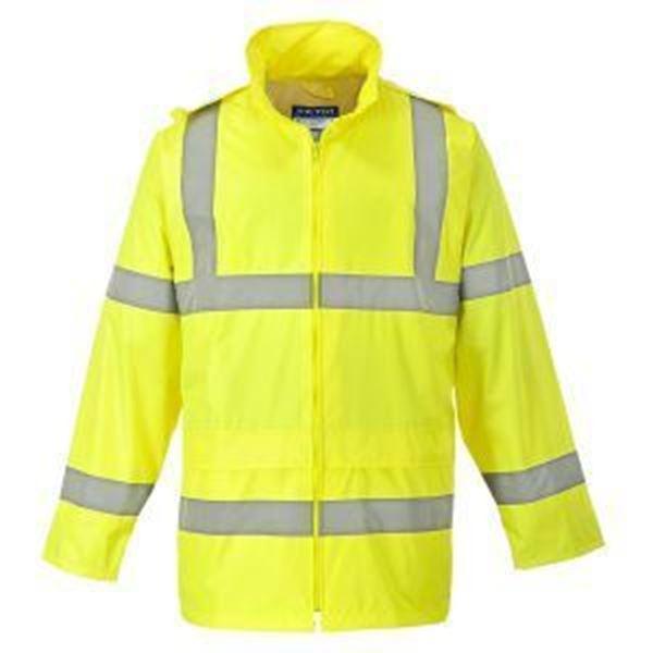Picture of Hi Vis Rain Jacket - Yellow