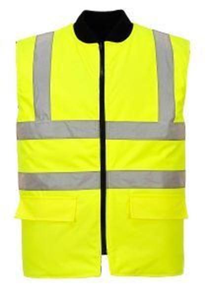 Picture of Hi-Vis Reversible Bodywarmer - Yellow