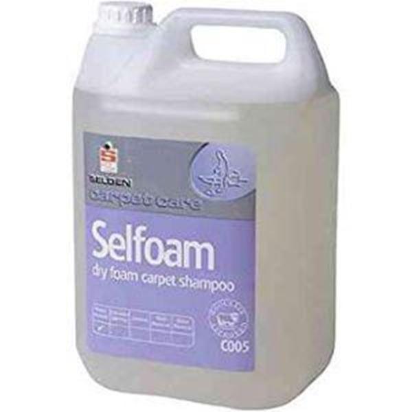 Picture of 2x5lt SELFOAM DRY FOAM CARPET SHAMPOO