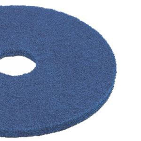 "Picture of 50cm/ 20"" CONTRACT FLOOR PADS - BLUE LIGHT CLEAN"