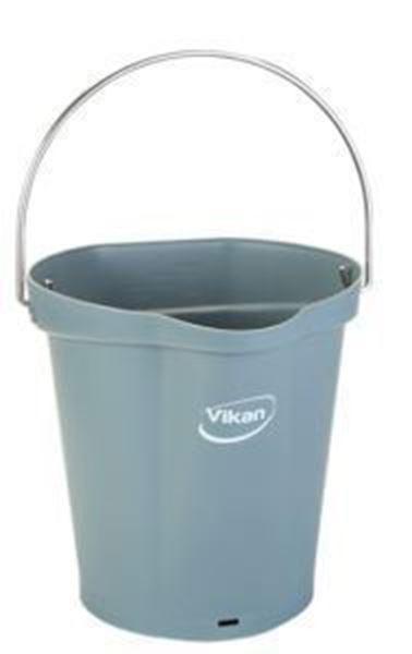 Picture of 6lt VIKAN BUCKET - GREY
