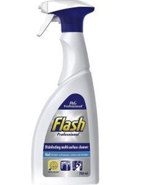 Picture of 6x750ml FLASH DISINFECTING MULTI SURFACE CLEANER