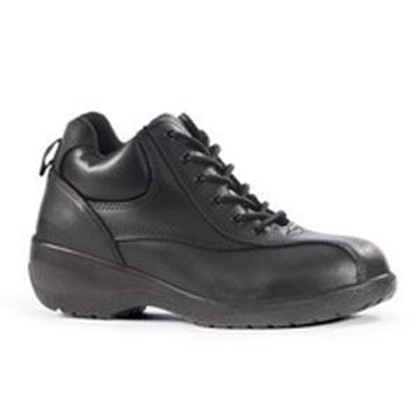 Picture of AMBER LADIES BLACK SAFETY SHOES S3 SRC - SIZE 7