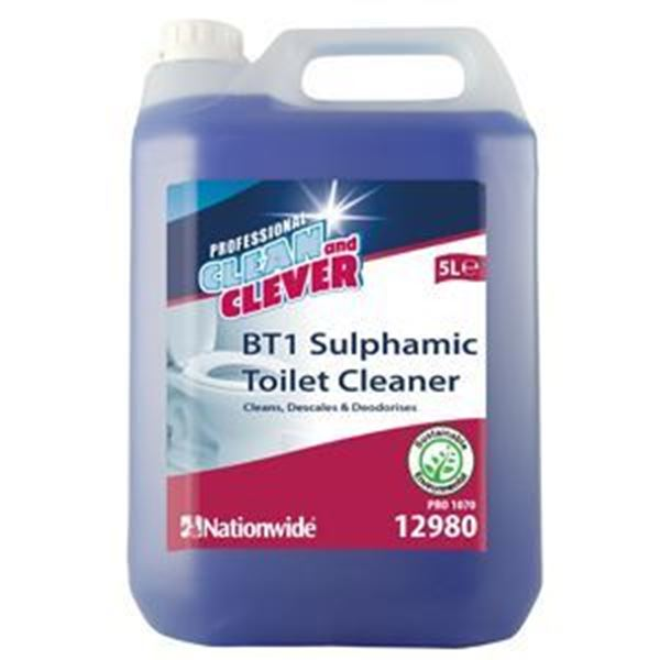 Picture of C&C BT1 SULPHAMIC TOILET CLEANER (5lt)