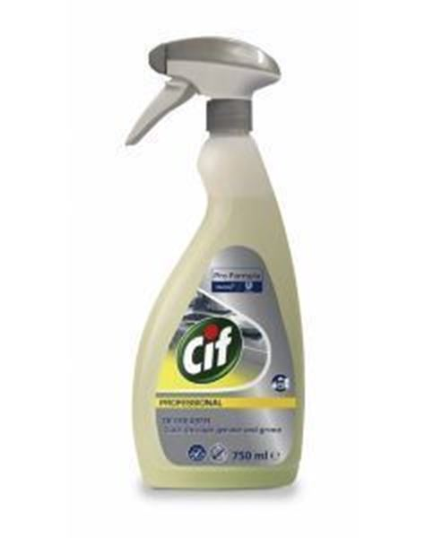 Picture of CIF PROF POWER CLEANER DEGREASER (750ml Trigger)