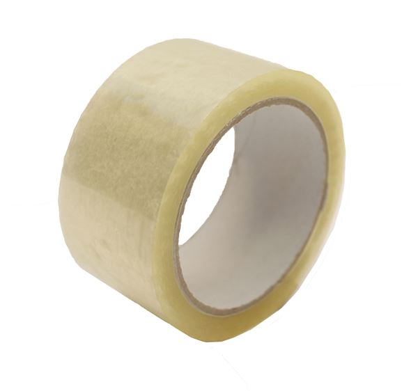 Picture of CLEAR POLYPROPYLENE PARCEL TAPE - 48mm X 66mtr