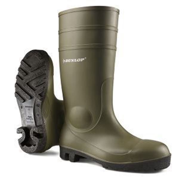 Picture of DUNLOP GREEN PROTOMASTER SAFETY WELLINGTON - SIZE 4
