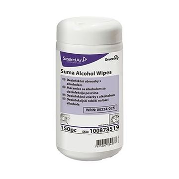 Picture of 12x150 SUMA ALCOHOL WIPES