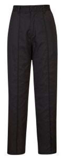 Picture of Ladies Elasticated Trousers Tall Leg - Black