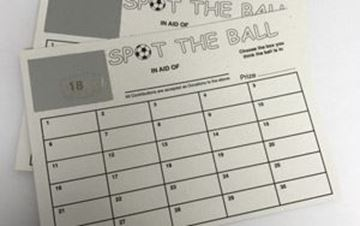 Picture of NSS x100  SCRATCH SPOT THE BALL CARDS1-30