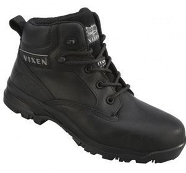 Picture of ONYX LADIES BLACK SAFETY BOOT S3 SRC - SIZE 9