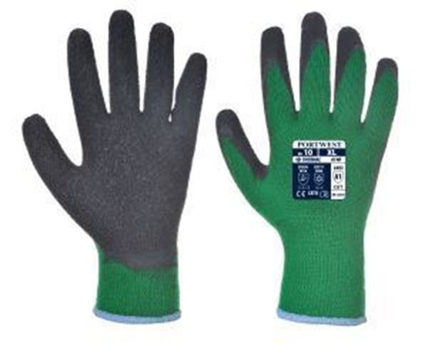 Picture of Thermal Grip Glove - Green/Black