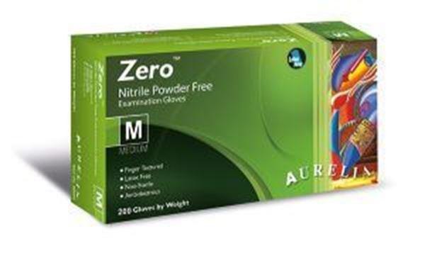 Picture of x100 AURELIA ZERO - AF NITRILE POWDER FREE GLOVE - LARGE