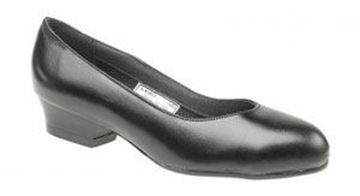 Picture of Ladies Court Safety Shoe - Black Size 3 - Clearance