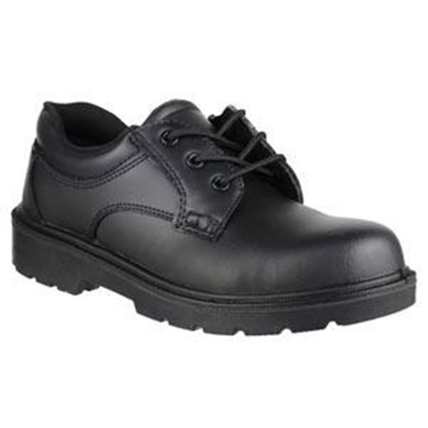 Picture of 5-eyelet Shoe Composite Cap/Midsole - Black size 3 * Clearance