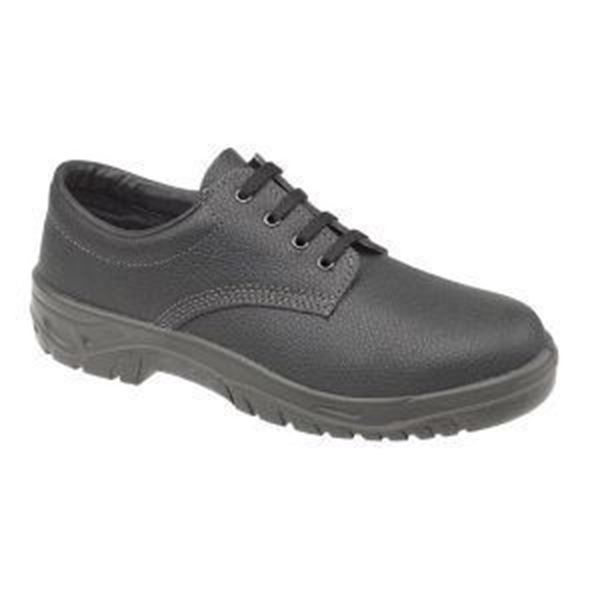 Picture of * Centek 4-eyelet Roll Top Safety Shoe - Black Size 6 - Clearance