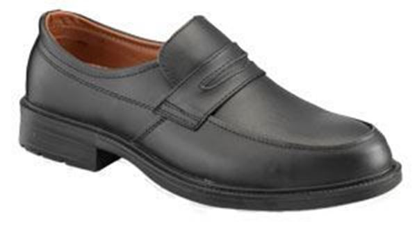 Picture of * Casual Slip On Safety Shoe - Black Size 6 Clearance