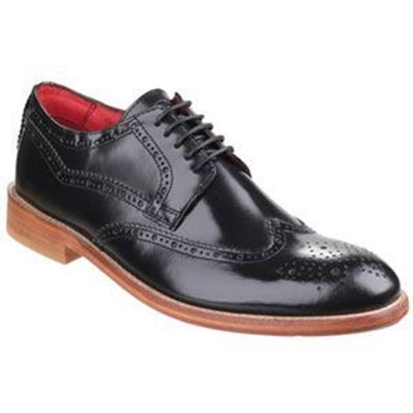 Picture of * Oxford Leather Non-Safety Shoe - Black Size 9 * Clearance