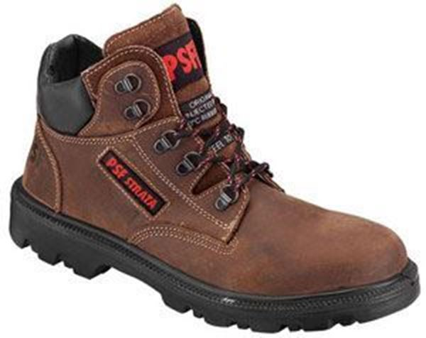 Picture of * D Ring Chukka Safety Boot  - Brown Size 11 * Clearance
