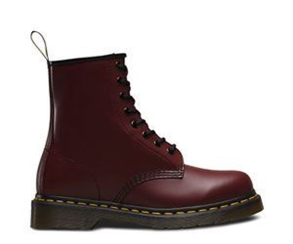 Picture of * Dr Martens 8 Eye Non-Safety Boot - Red Size 11 * Clearance