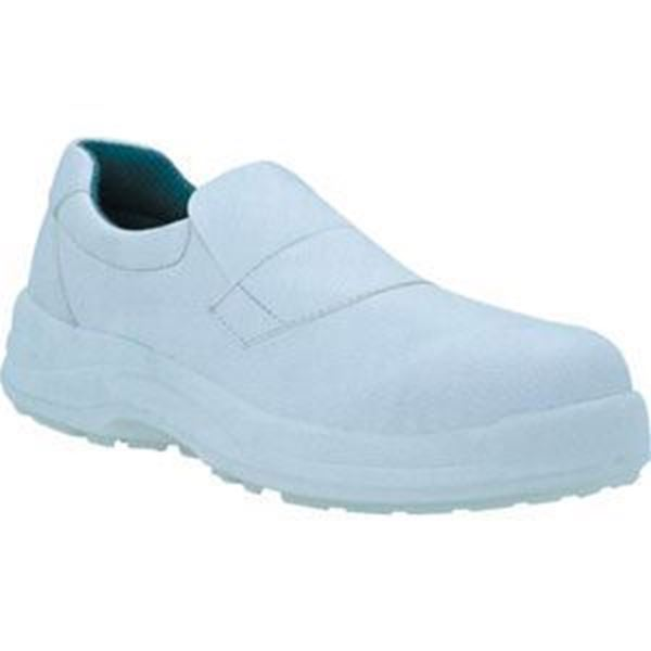 Picture of * Slip on Safety Shoe - White Size 11 * CLearance